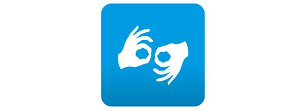 langage des signes
