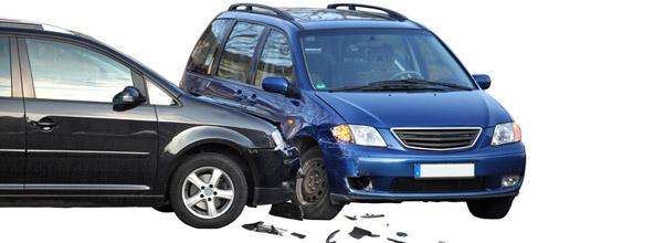accident de deux voitures
