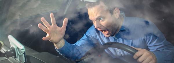 colere rage enervement voiture