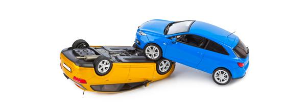 accident voiture jouet