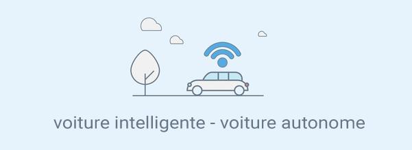 dessin voiture autonome