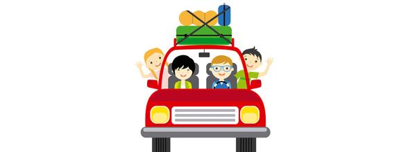 Les parents sont-ils des conducteurs modèles pendant les vacances ?