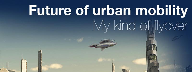Le futur taxi volant d'Airbus