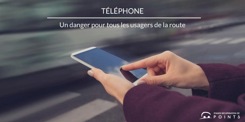 Le téléphone, un danger pour tous les usagers de la route