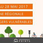 Du 15 au 28 mai : quinzaine régionale des usagers vulnérables sur la route
