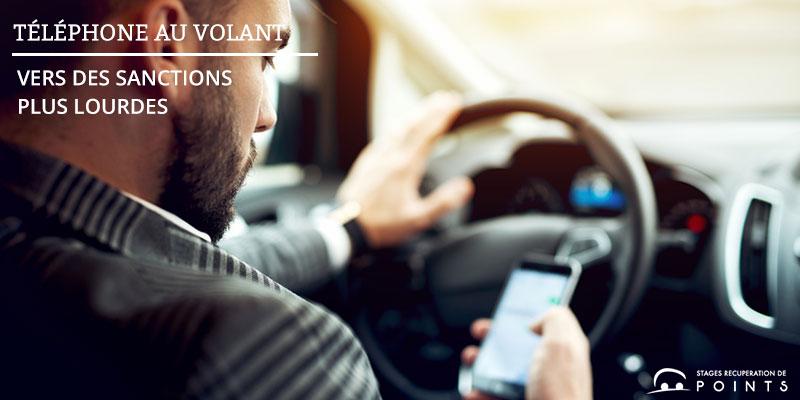 Téléphone au volant : vers des sanctions alourdies