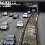 Baisse de 1,2 % de la mortalité routière en 2017
