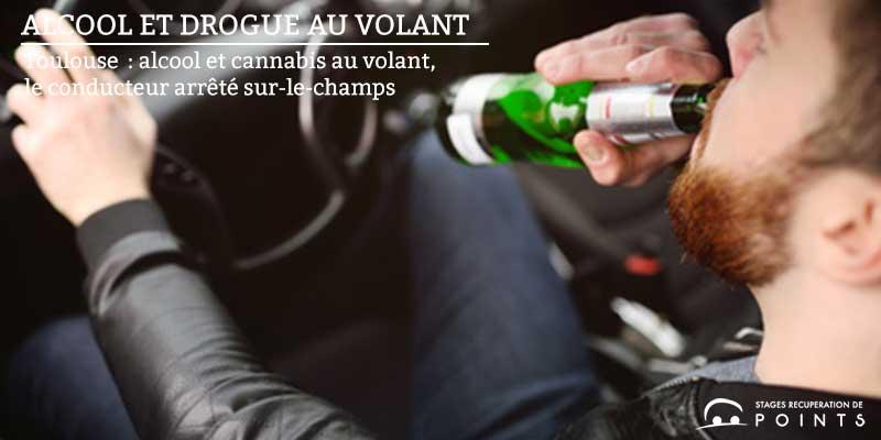 Toulouse: alcool et cannabis au volant, le conducteur arrêté sur-le-champs