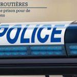 Valence : 18 mois de prison pour de multiples infractions