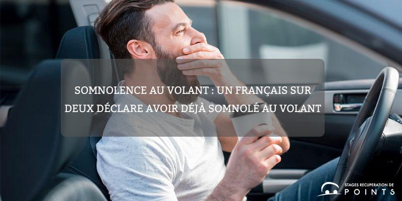 Somnolence au volant : un Français sur deux déclare avoir déjà somnolé au volant
