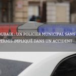 Roubaix : un policier municipal sans permis impliqué dans un accident
