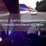 Limoges: il refuse de se soumettre au contrôle des forces de l'ordre