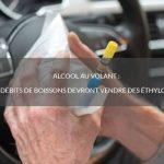 Alcool au volant : les débits de boissons devront vendre des éthylotests